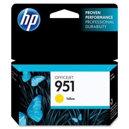 Originální cartridge HP č. 951Y (CN052AE) (Žlutá)