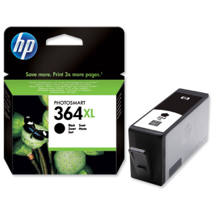 Originální cartridge HP č. 364BK XL (CN684EE) (Černá)