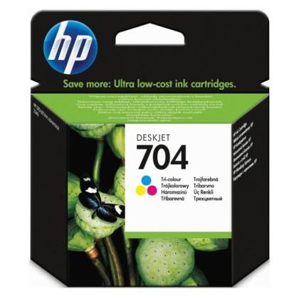 Originální cartridge HP 704 (CN693AE) (Barevná)