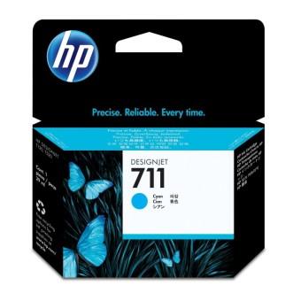 Originální cartridge HP č. 711 (CZ130A) (Azurová)