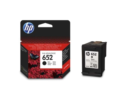 Originální cartridge HP 652 (F6V25A) (Černá)