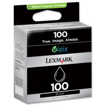 Originální cartridge Lexmark 100BK (14N0820E) (Černá)