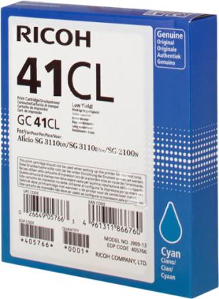 Originální cartridge Ricoh 405766 (Azurová)