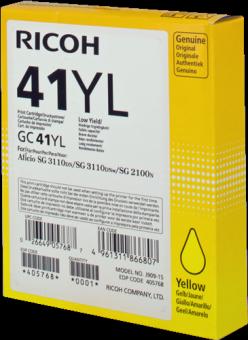 Originální cartridge Ricoh 405768 (Žlutá)