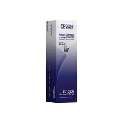 Originální páska Epson C13S015339 (černá)