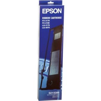 Originální páska Epson C13S015086 (černá)