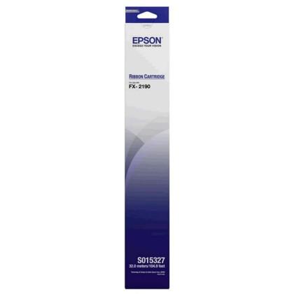 Originální páska Epson C13S015327 (černá)