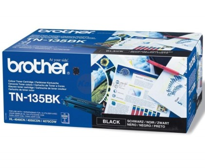 Originální toner Brother TN-135 Černý