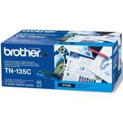 Toner do tiskárny Originální toner Brother TN-135 Azurový