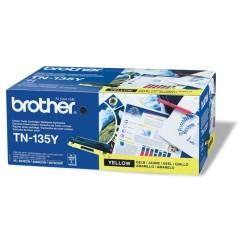 Toner do tiskárny Originální toner Brother TN-135 Žlutý