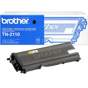 Originální toner Brother TN-2110 Černý