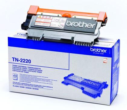 Originální toner Brother TN-2220 Černý