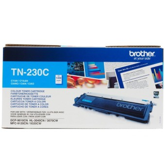Originální toner Brother TN-230C (Azurový)
