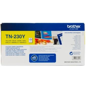 Originální toner Brother TN-230Y (Žlutý)