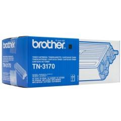 Toner do tiskárny Originální toner Brother TN-3170 Černý