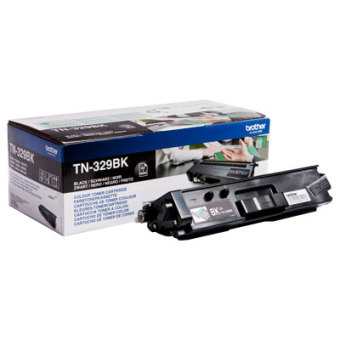 Originální toner Brother TN-329BK (Černý)