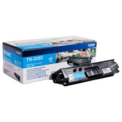 Originální toner Brother TN-329C (Azurový)