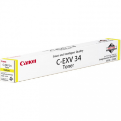 Toner do tiskárny Originální toner CANON EXV-34 Y (Žlutý)