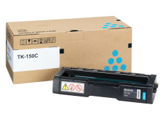 Toner do tiskárny Originální toner Kyocera TK-150 C (Azurový)
