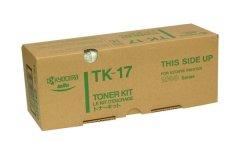 Toner do tiskárny Originální toner KYOCERA TK-17 (Černý)
