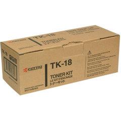 Toner do tiskárny Originální toner KYOCERA TK-18 (Černý)
