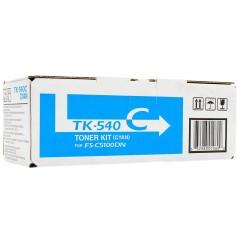 Toner do tiskárny Originální toner KYOCERA TK-540C (Azurový)