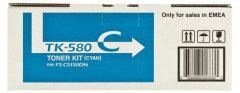Toner do tiskárny Originální toner KYOCERA TK-580 C (Azurový)