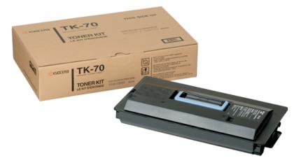 Originální toner KYOCERA TK-70 (Černý)