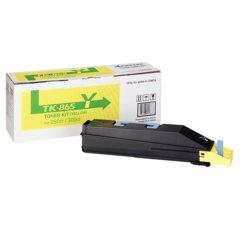 Toner do tiskárny Originální toner KYOCERA TK-865Y (Žlutý)