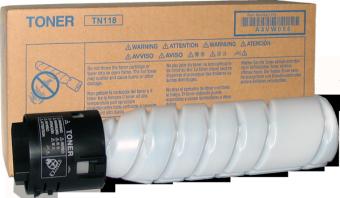 Originální toner Minolta TN118 (A3VW050) (Černý)
