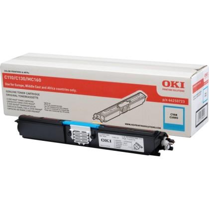 Originální toner OKI 44250723 (Azurový)