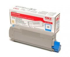 Toner do tiskárny Originální toner OKI 43381907 (Azurový)