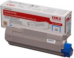 Toner do tiskárny Originální toner OKI 43872307 (Azurový)