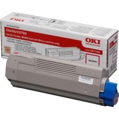 Toner do tiskárny Originální toner OKI 43872306 (Purpurový)