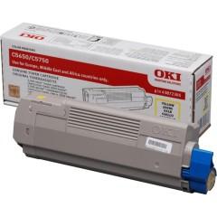 Toner do tiskárny Originální toner OKI 43872305 (Žlutý)