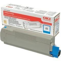Toner do tiskárny Originální toner OKI 43324423 (Azurový)