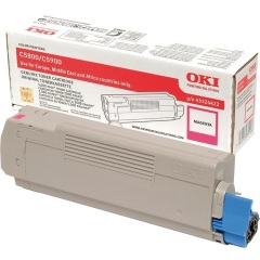 Toner do tiskárny Originální toner OKI 43324422 (Purpurový)