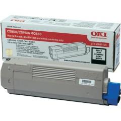 Toner do tiskárny Originální toner OKI 43865724 (Černý)