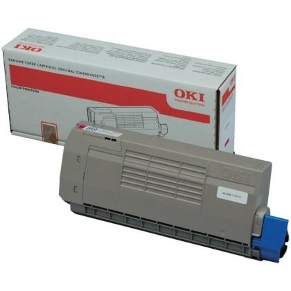 Originální toner OKI 44318606 (Purpurový)