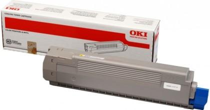 Originální toner OKI 44643001 (Žlutý)
