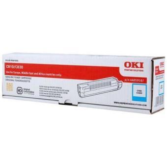 Originální toner OKI 44059107 (Azurový)