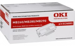 Toner do tiskárny Originální toner OKI 01240001 (Černý)
