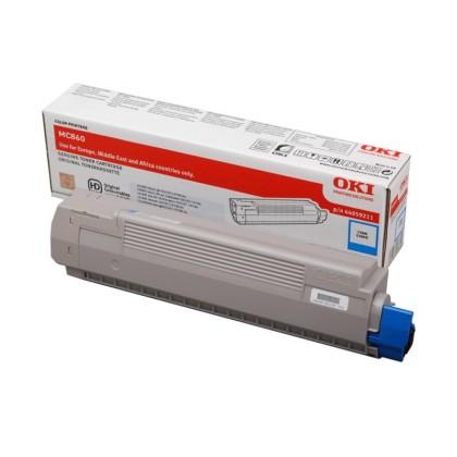 Originální toner OKI 44059211 (Azurový)