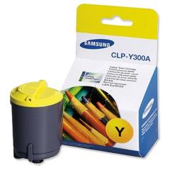 Toner do tiskárny Originální toner SAMSUNG CLP-Y300A (Žlutý)
