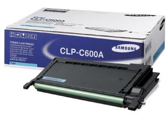 Originální toner SAMSUNG CLP-C600A (Azurový)