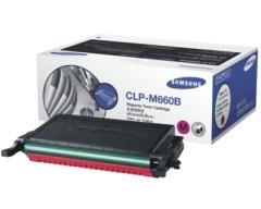 Toner do tiskárny Originální toner SAMSUNG CLP-M660B (Purpurový)