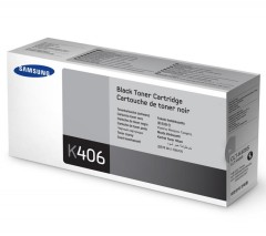 Toner do tiskárny Originální toner Samsung CLT-K406S (Černý)