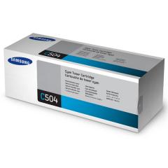Toner do tiskárny Originální toner Samsung CLT-C504S (Azurový)