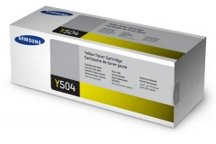 Toner do tiskárny Originální toner Samsung CLT-Y504S (Žlutý)