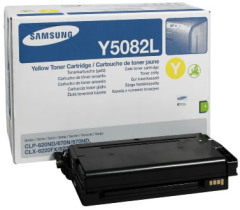Toner do tiskárny Originální toner Samsung CLT-Y5082L (Žlutý)